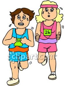 226x300 2 Girls Clipart Girls Running Free Images