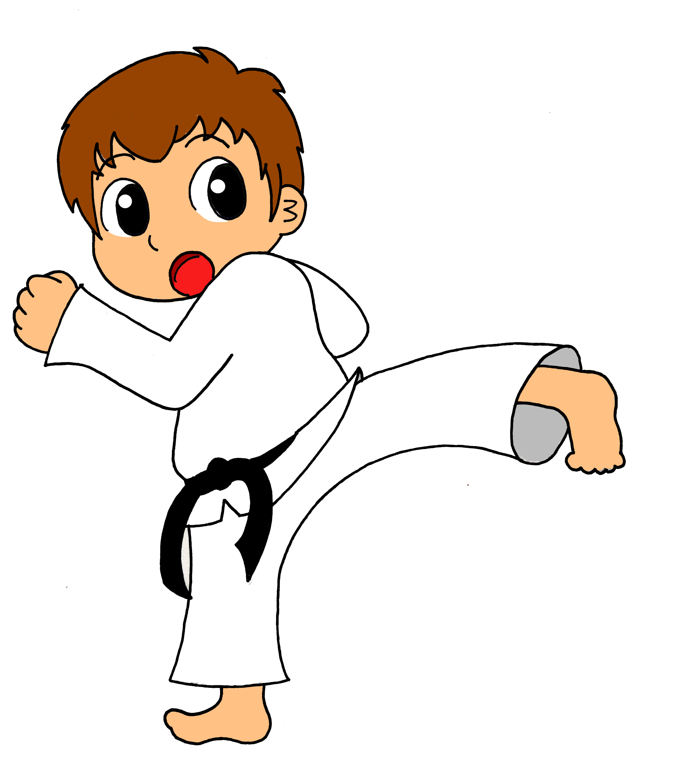 2413x2663 Karate Pictures Clip Art Karate Cartoon Clipart Kid 2