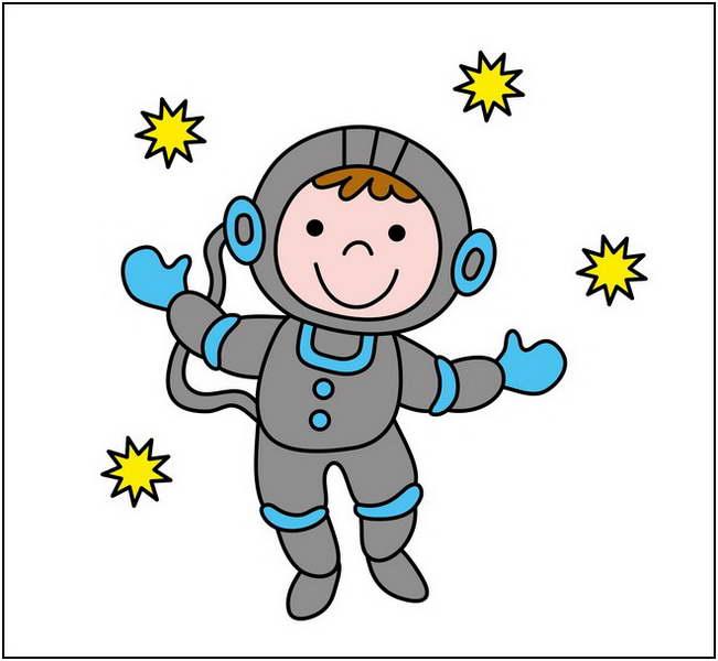 651x600 Space Clip Art Images Kid Astronaut Clipart