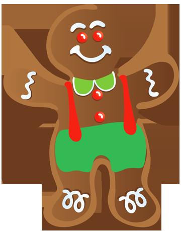 360x459 Christmas Gingerbread Man Clip Art Clip Art