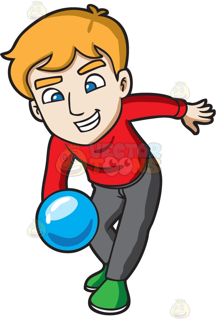698x1024 Bowling Cartoons Clip Art Men Bowling Collection 003