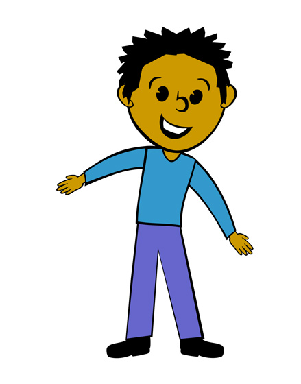 439x560 Animated Clipart Of Man
