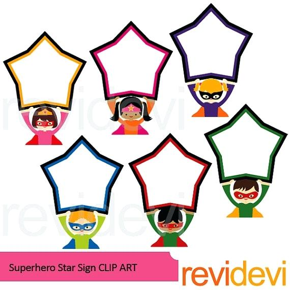 570x570 Board Clip Art Superheroes Sale Superhero Holding Star Sign Board