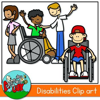 350x350 Disability Clip Art Kids With Disabilities Learning Disability