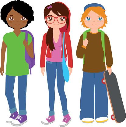 414x416 Students Clipart School Student Cliparts Free Download Clip Art