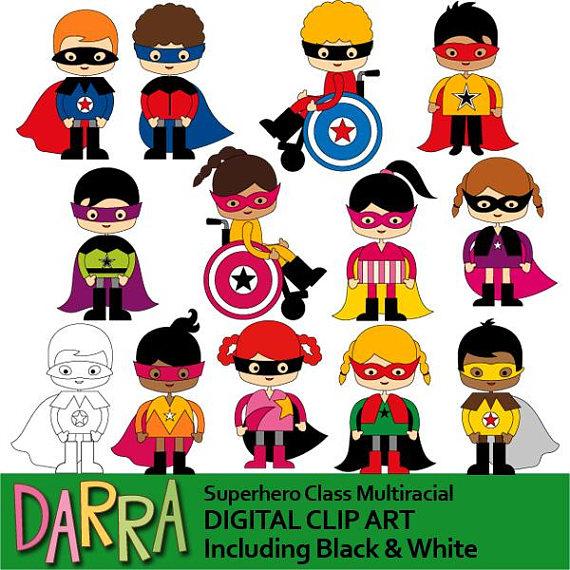570x570 Superhero Clipart