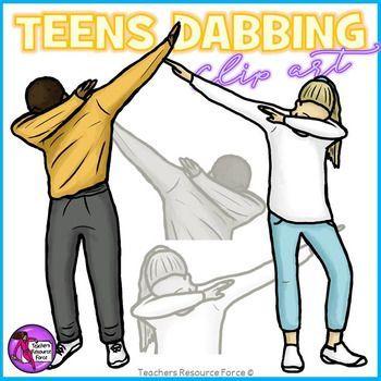 350x350 Dabbing Teens Clipart Clip Art, Teen And Secondary Schools