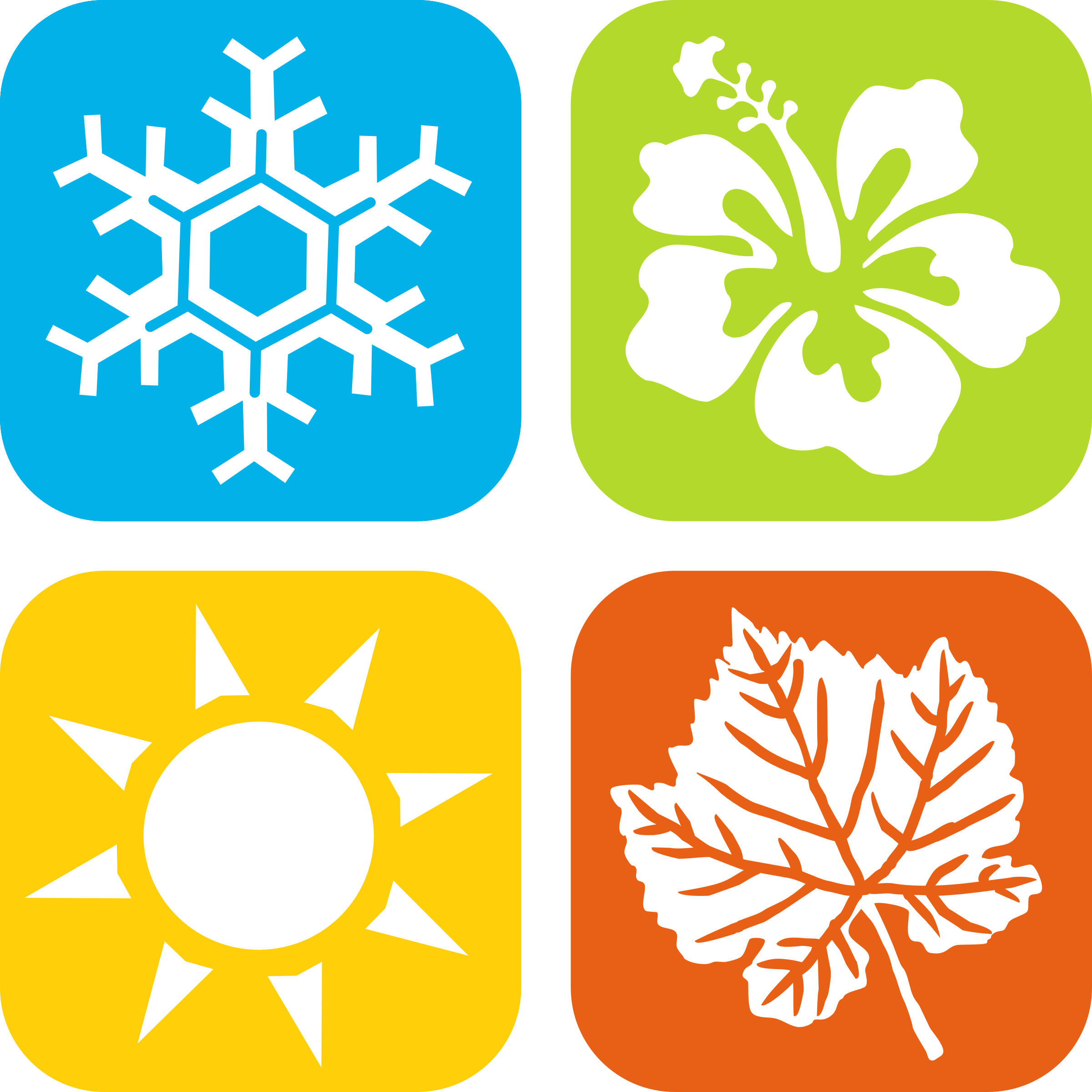 2400x2400 Seasons Icons By Gdj I C O N I C O N Icons