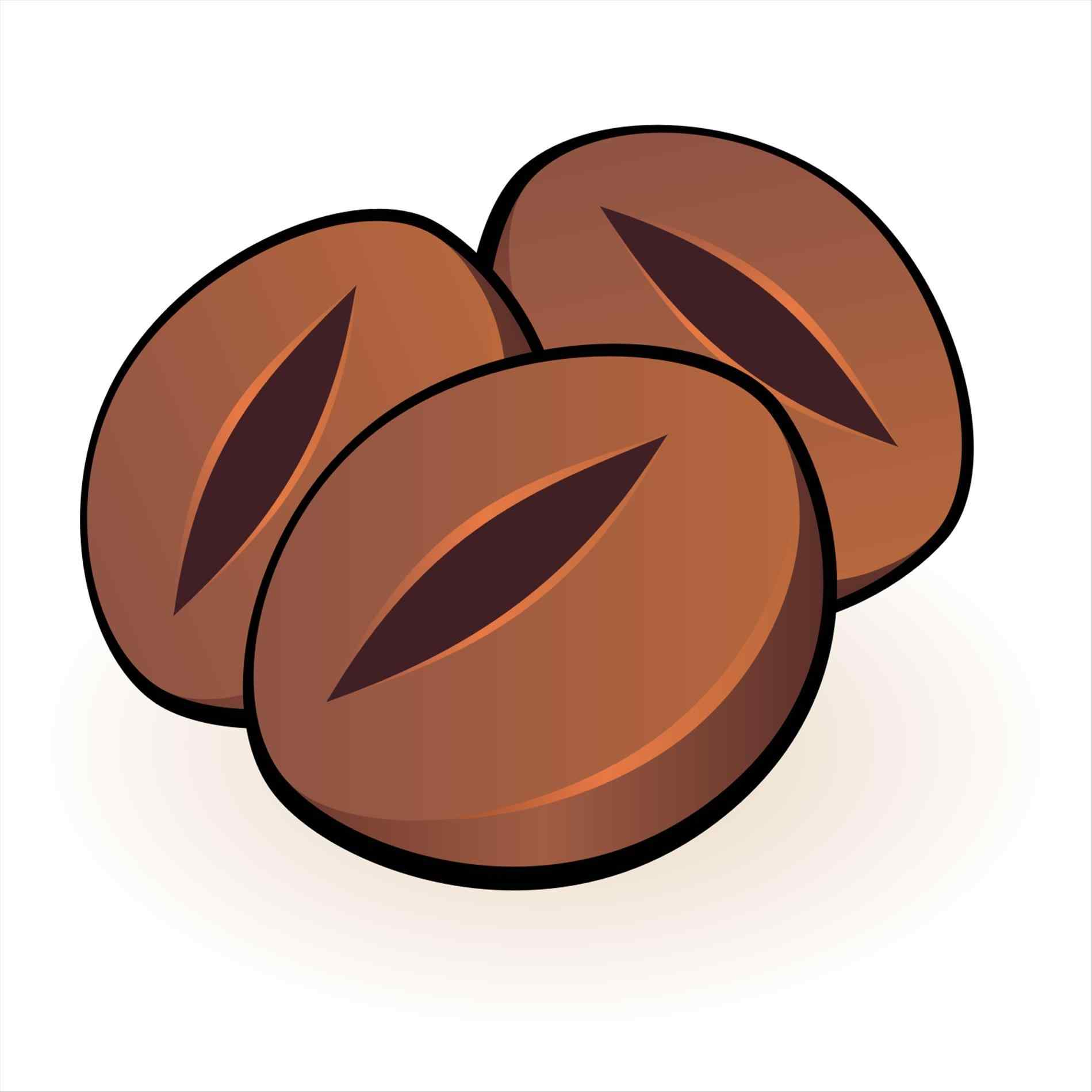 1899x1899 The Images Collection Of Coffee Bean Icon Png Free Download Clip