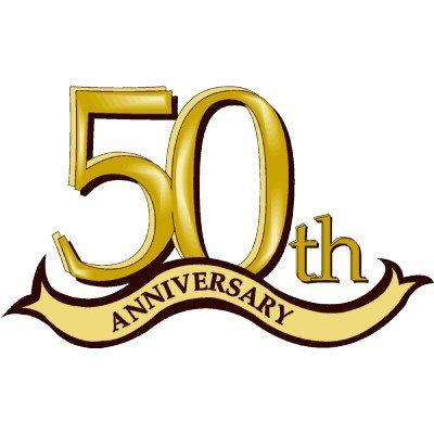 400x400 Happy 50th Anniversary Clip Art 50th Anniversary Clipart 15064