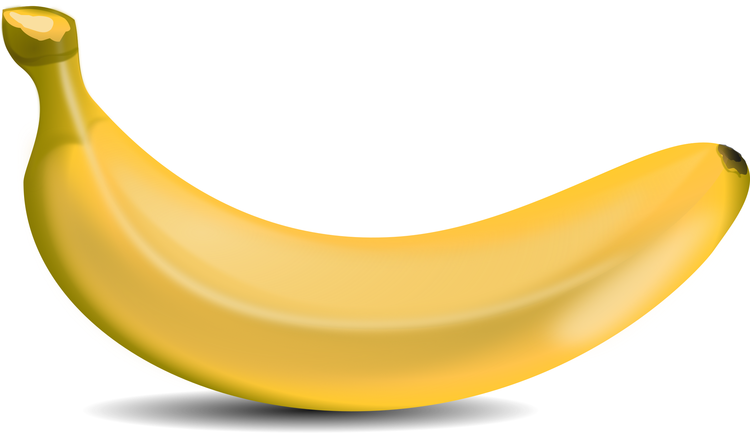 2400x1388 Banana Images Transparent Free Download Clip Art