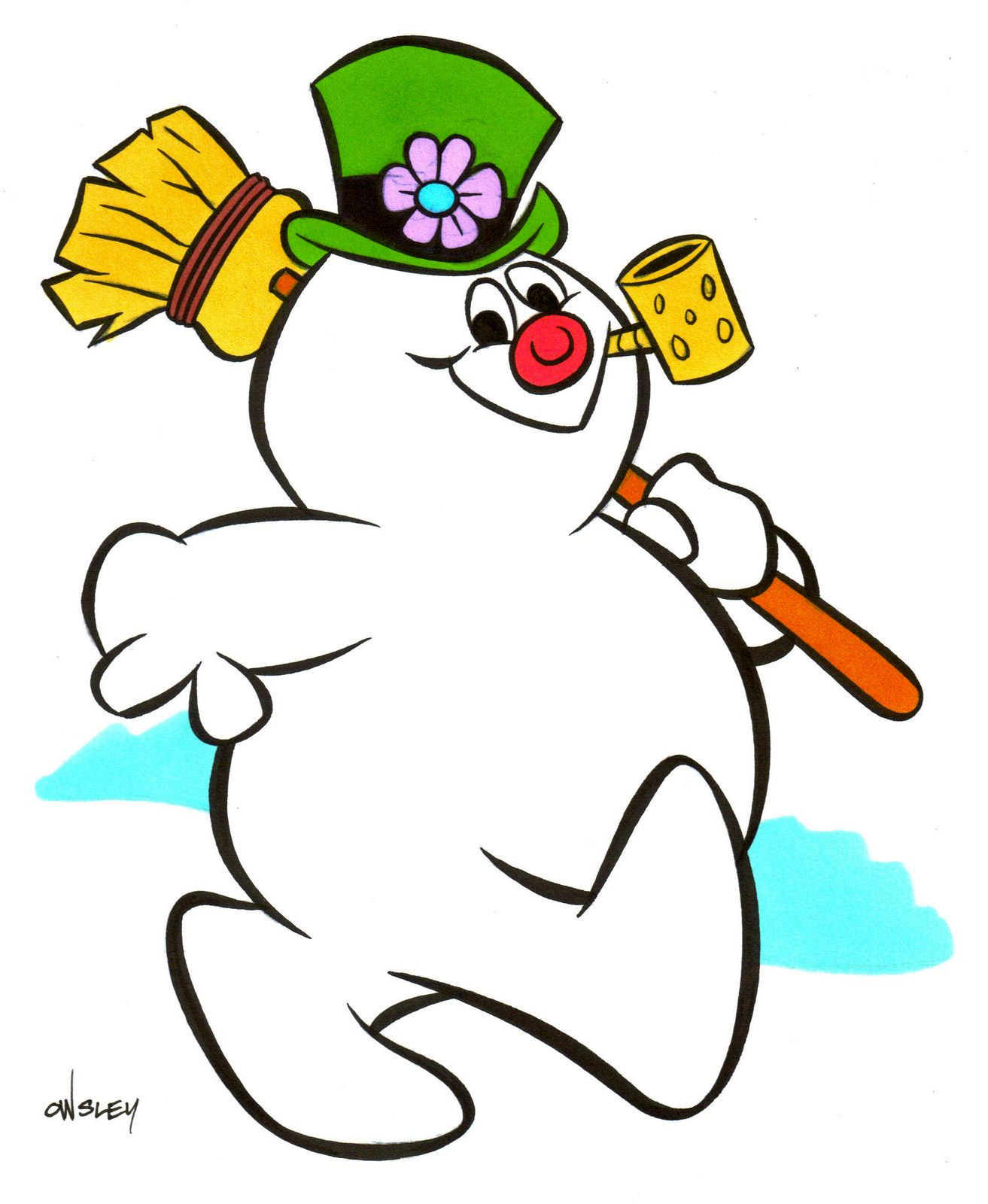 Clipart Frosty The Snowman