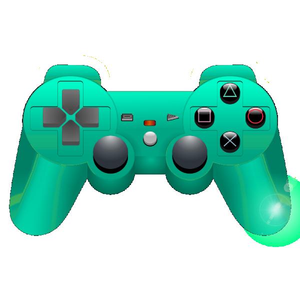 600x600 Game Controller Clip Art