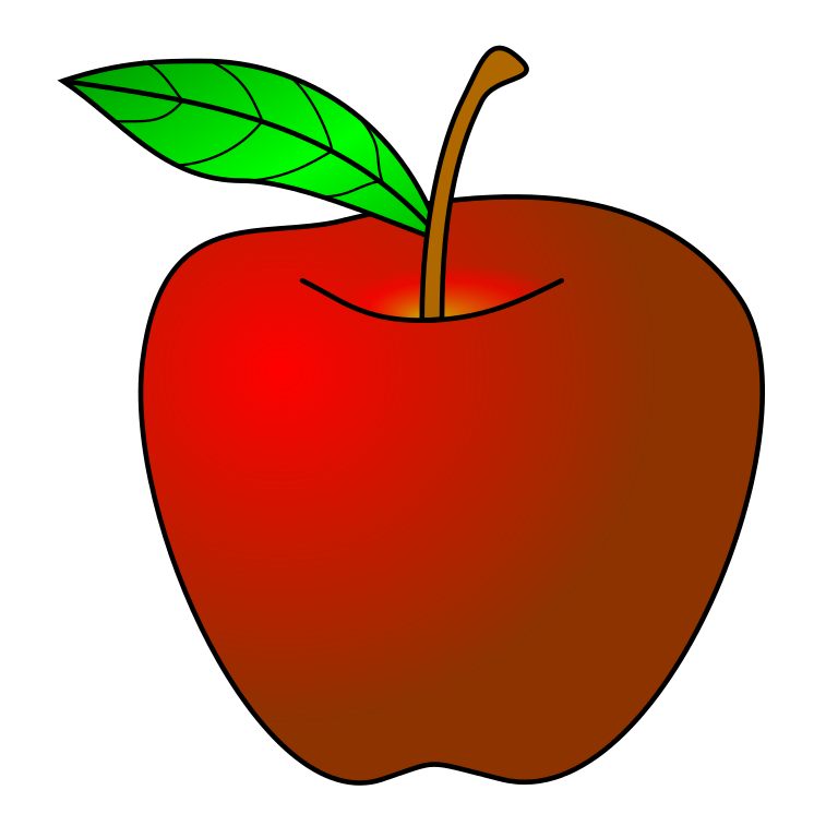 768x768 Nobby Design Ideas Clipart Apple File Red Svg Wikimedia Commons