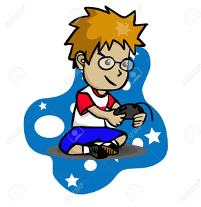 291x300 Playing Computer Games Clipart Free Images