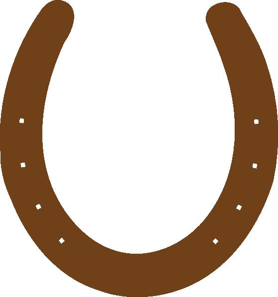 558x597 Horseshoe Clipart Brown Horseshoe Clip Art