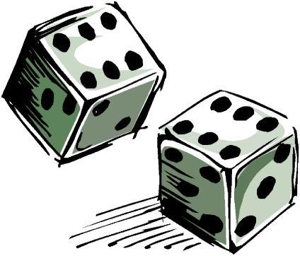 424x362 Casino Cliparts