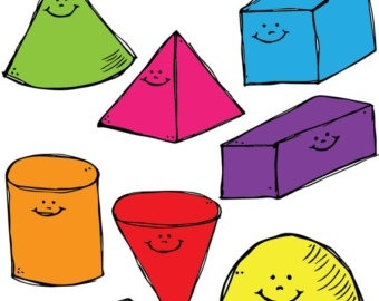 340x270 Geometric Shape Clipart Clipground Intended For Geometric Shapes