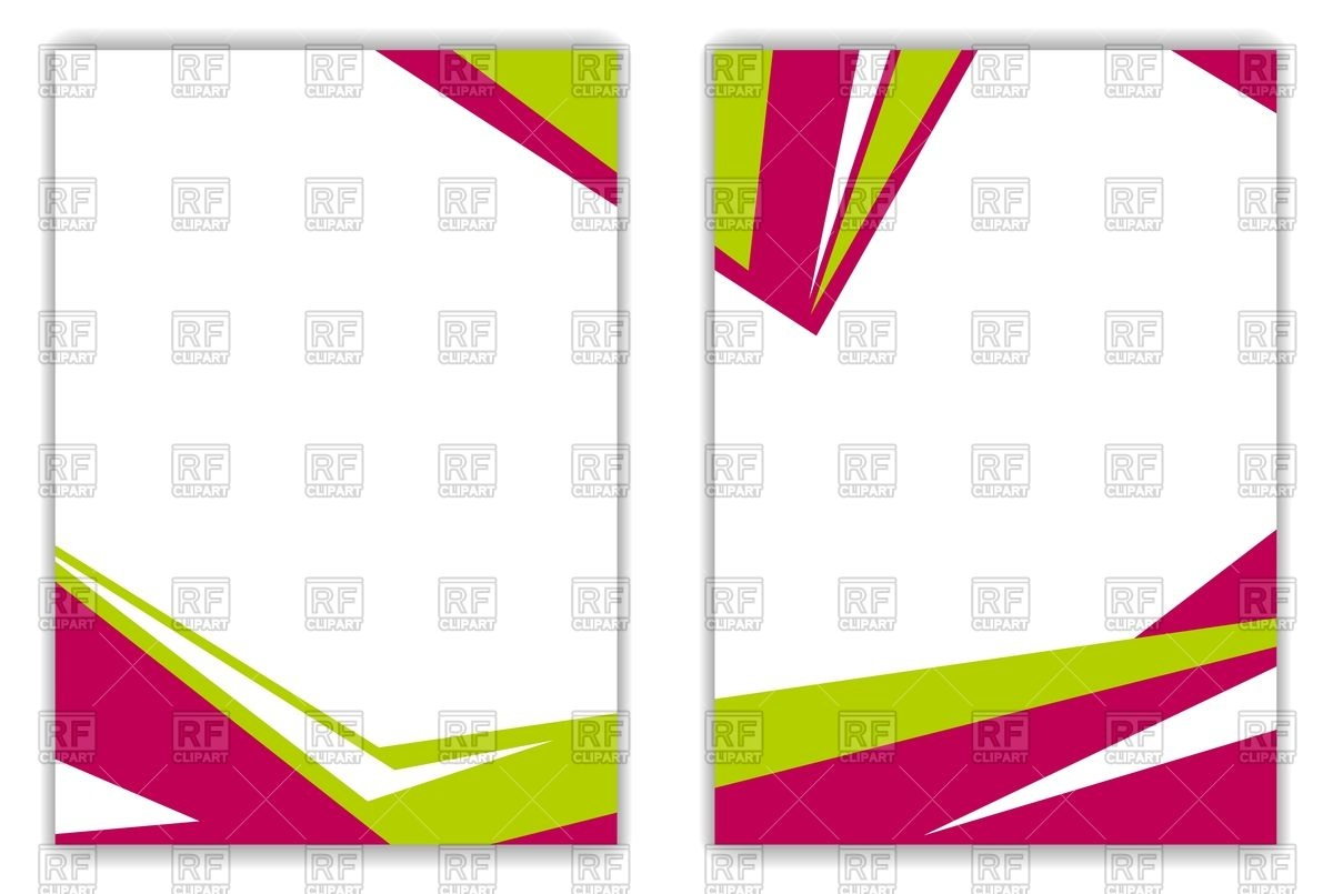 1200x805 Red And Green Geometric Frames Royalty Free Vector Clip Art Image