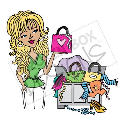 400x400 Girly Girl Clipart