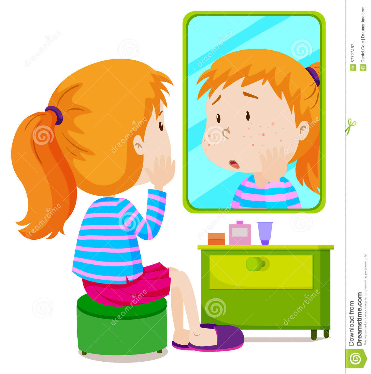 1290x1300 Mirror Clipart Girly