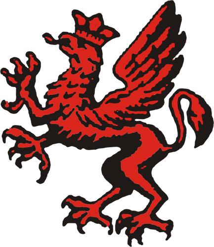 433x500 Polish 16th Infantry Division Dragon Vector Clip Art Public