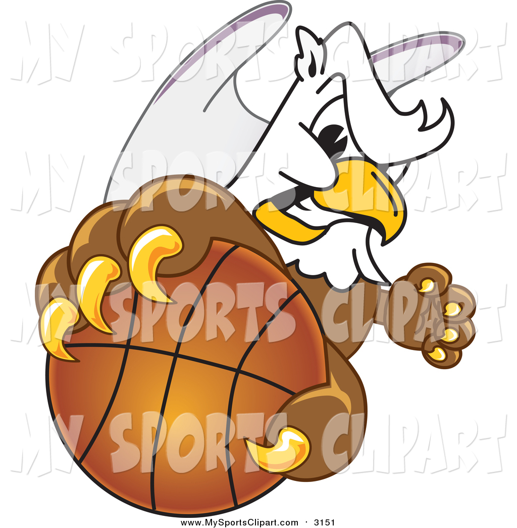 1024x1044 Sports Clip Art Of A Griffin Grabbing A Basketball By Toons4biz