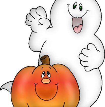 414x425 Clipart Halloween Ghost Clipart Printable Halloween Pencil And