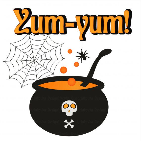 570x570 Digital Halloween Clipart Set