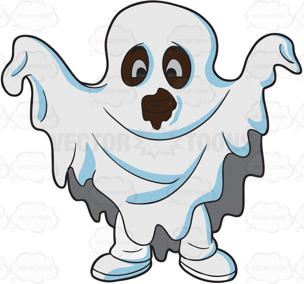 1024x958 Halloween Ghost Clip Art Black And White