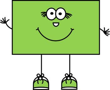 350x289 Happy 2d Shapes Clip Art By Clip Factory Teachers Pay Teachers