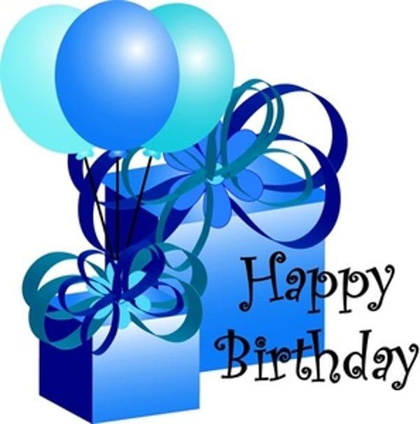 600x606 Birthday Clip Art, Happy Birthday Clipart Animated
