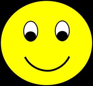 300x276 Happy Smiley Clip Art Clipart Panda