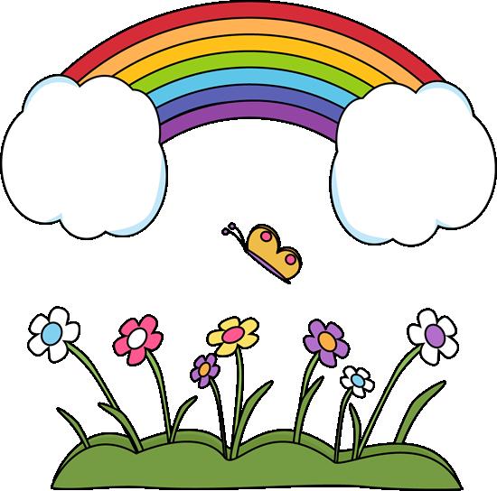 550x544 Rainbow Clip Art