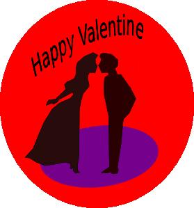 279x299 Happy Valentine Clip Art