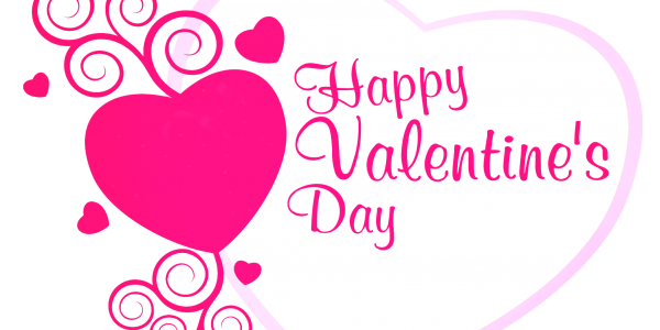 600x300 Image Of Happy Valentines Day Clipart