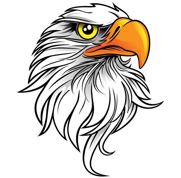 600x590 Bald Eagle Clipart Harley Davidson