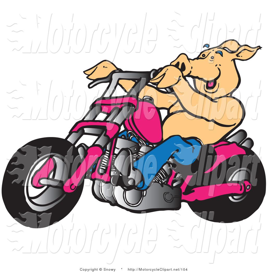 1024x1044 Motorcycle Santa Clipart