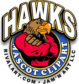 306x326 Hawk Clip Art