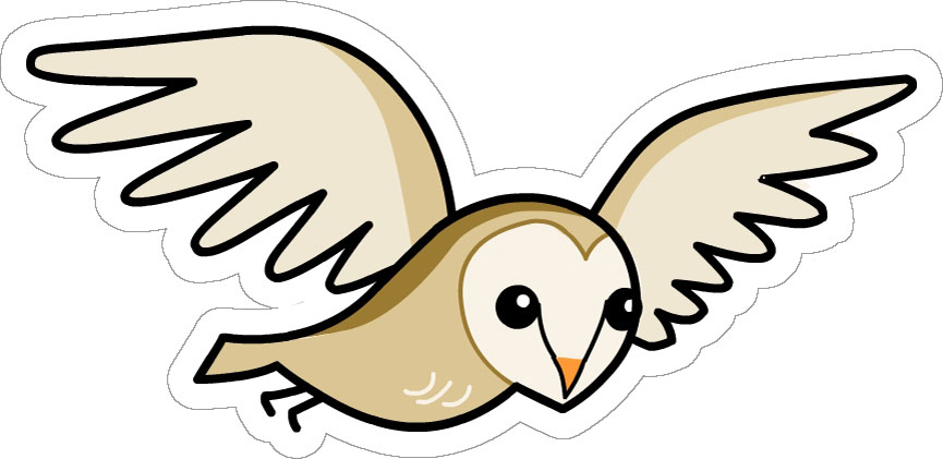 865x421 Brown Hawk Owl Clipart Animated Free Collection Download
