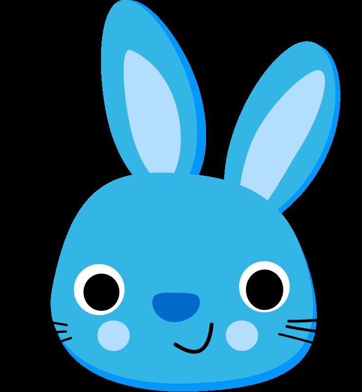 738x800 Bunny Clipart Bunny Head