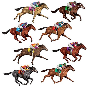 350x350 Horse Racing Clipart Amazing Race