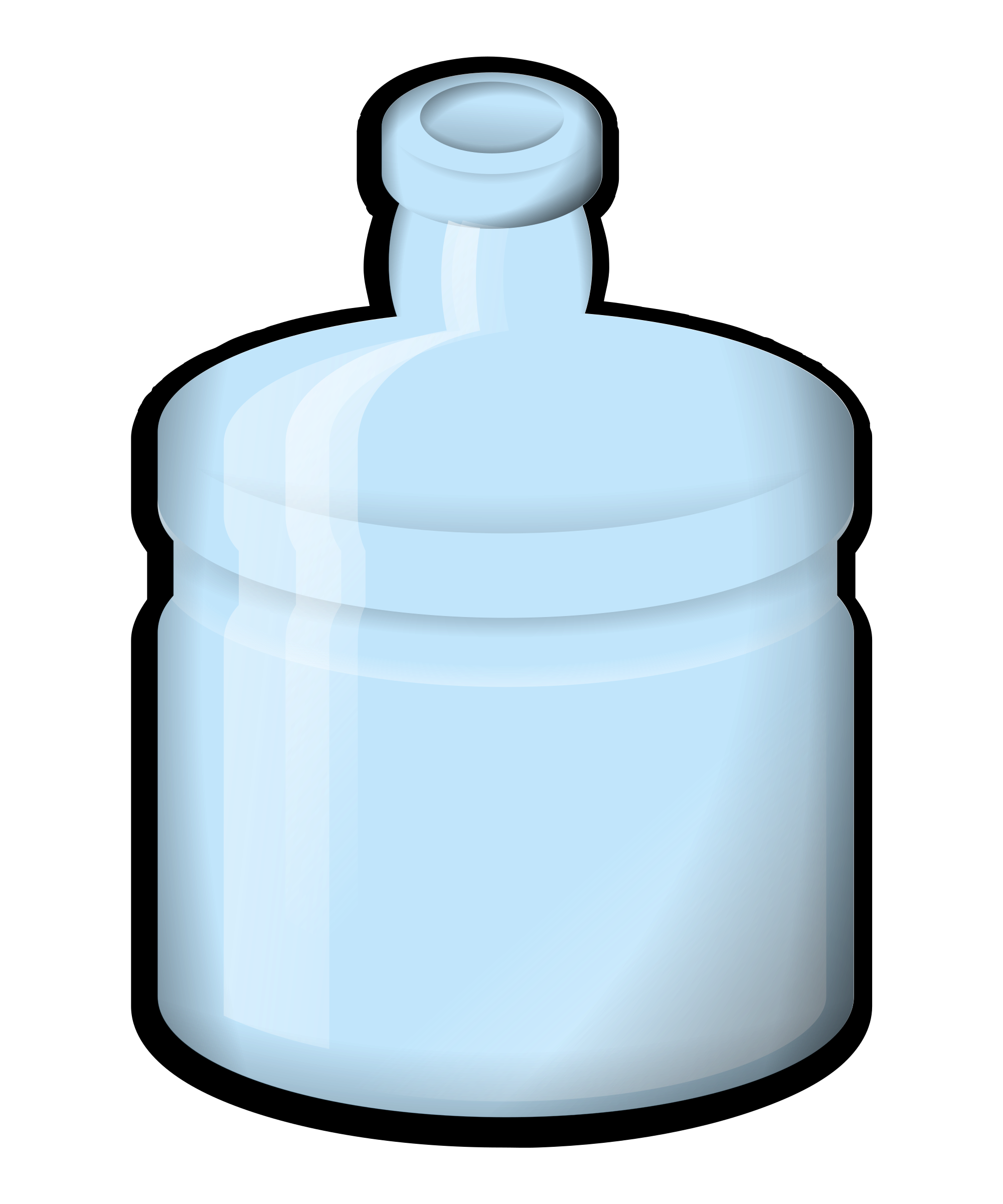 2000x2400 Excellent Ideas Clip Art Water Bottle Bottled Vector Pure Png
