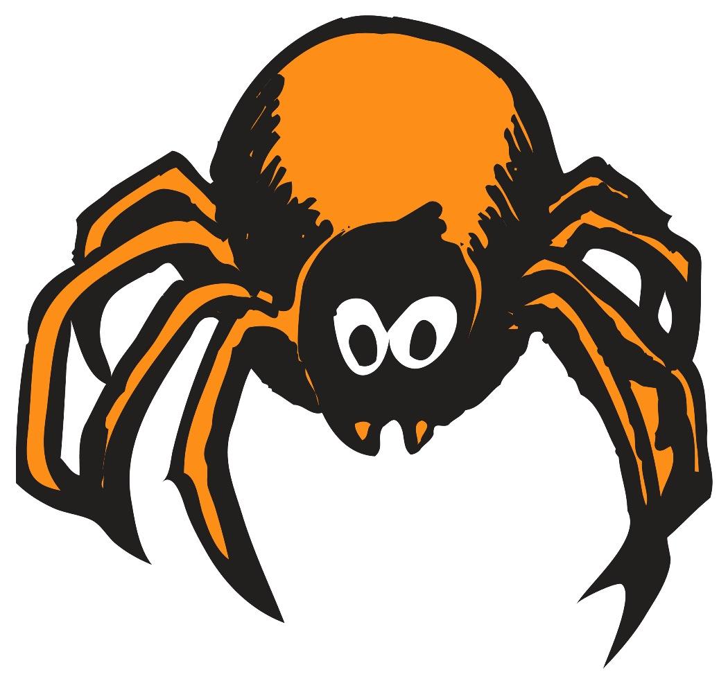 1050x983 Halloween Spider Black And White Clip Art