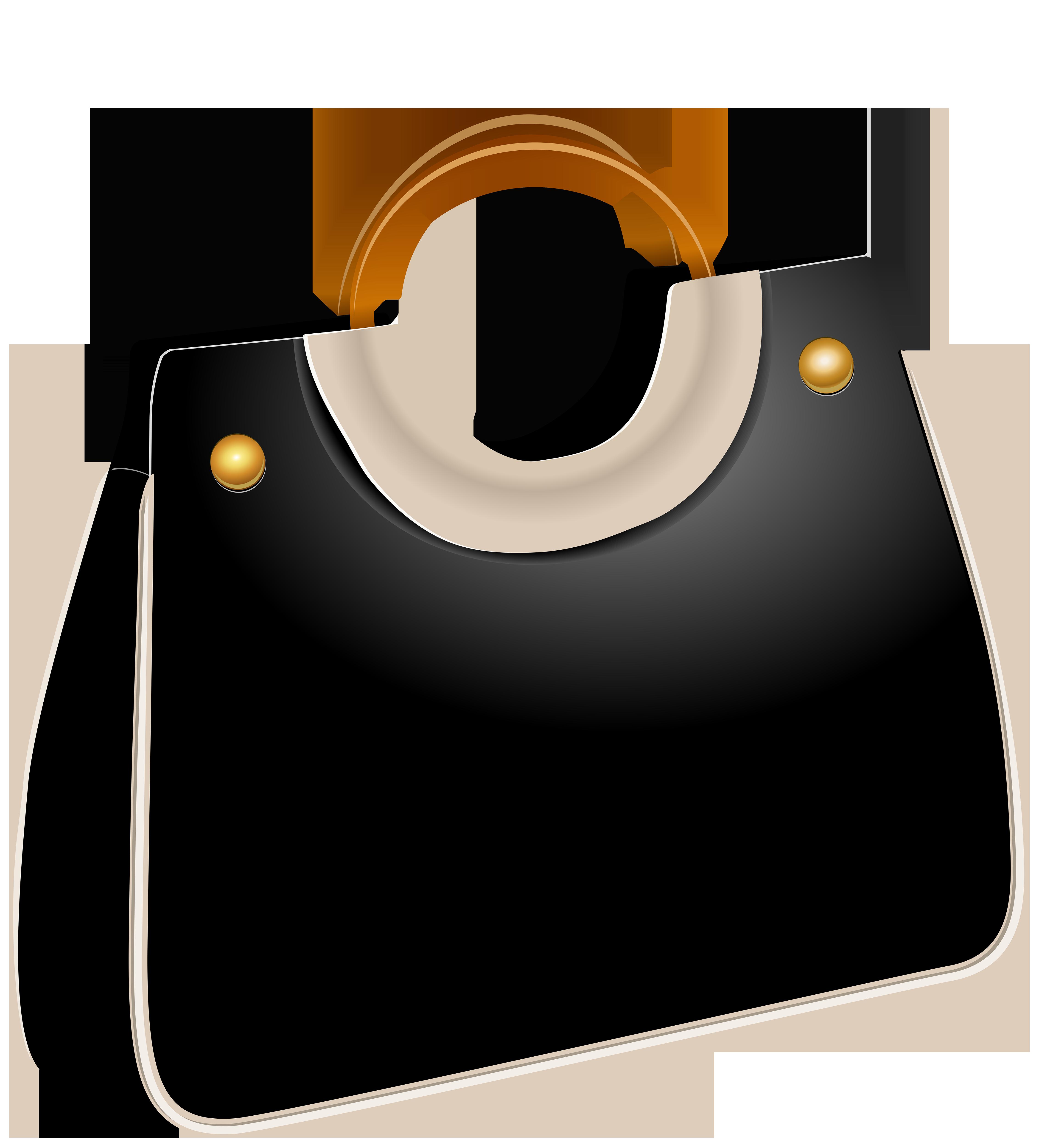 4527x5000 Handbag Black Png Clip Art