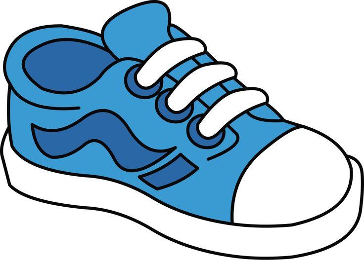 736x527 Shoes Clip Art Image Black