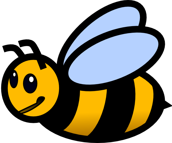 600x498 Bee Black And White Bee Clip Art Black And White Free Clipart