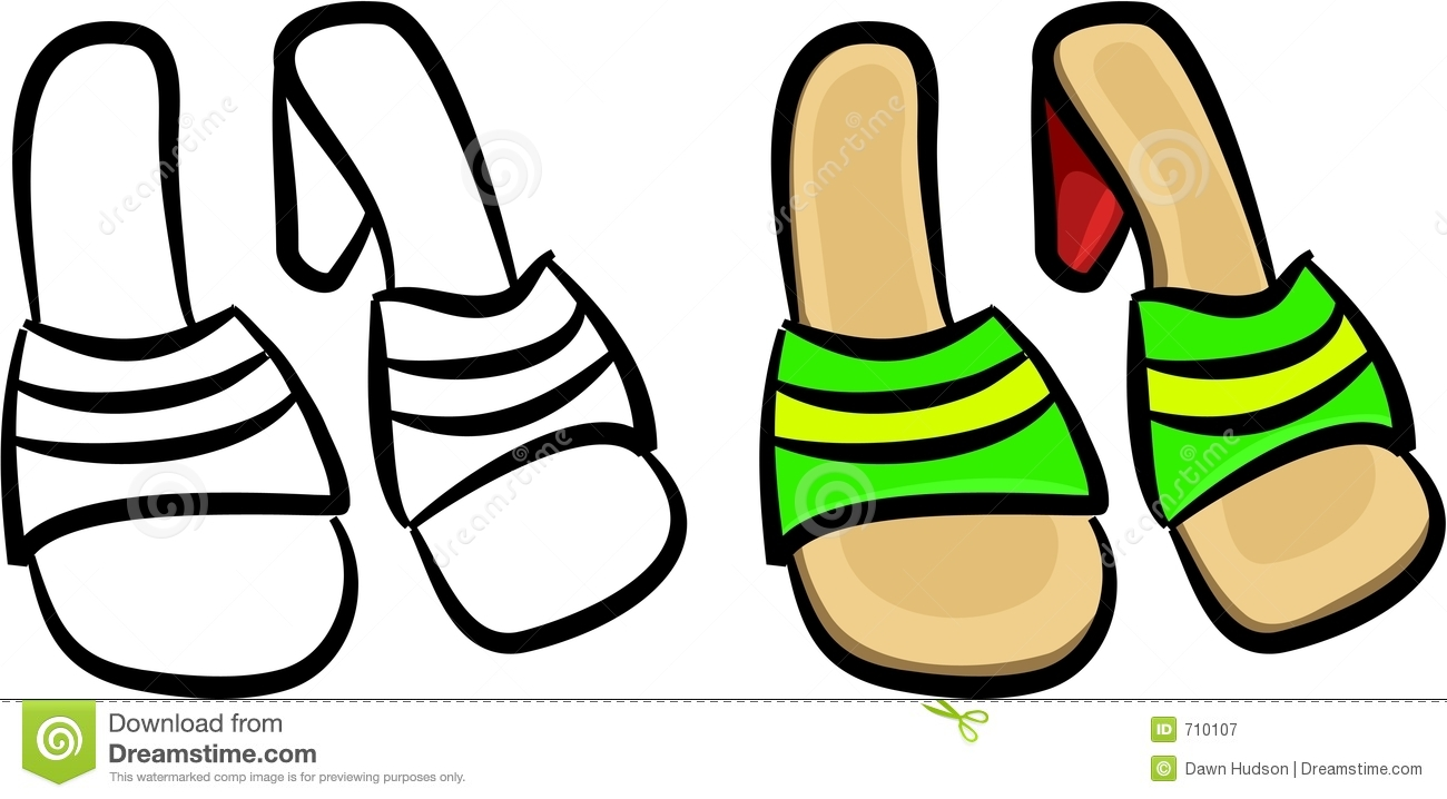 1300x718 Clip Art Black And White Sandals Clipart
