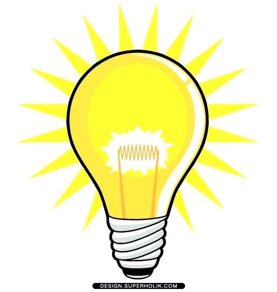 551x580 Light Clip Art Info Light Bulb Idea Clipart Png