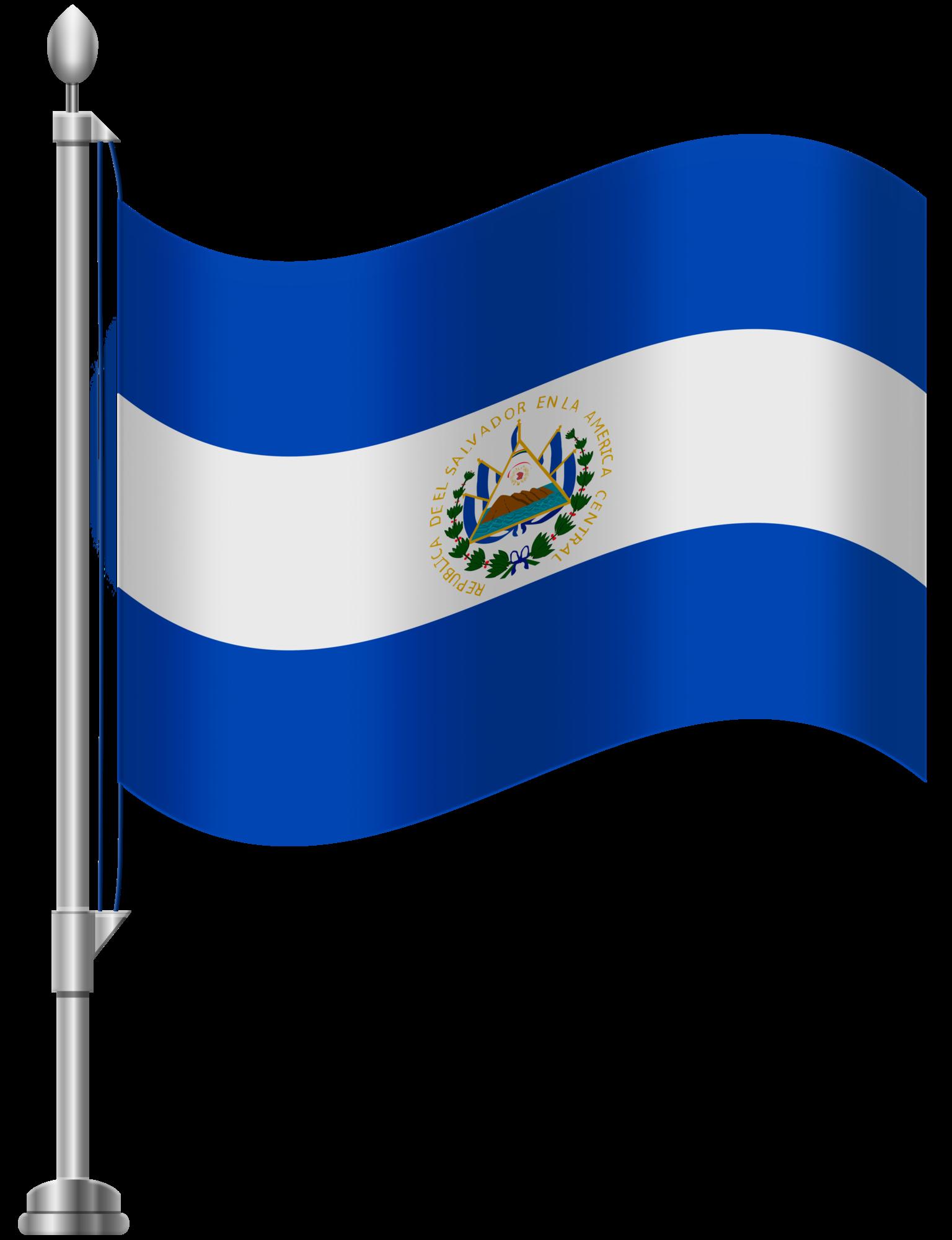 1536x2000 El Salvador Flag Png Clip Art